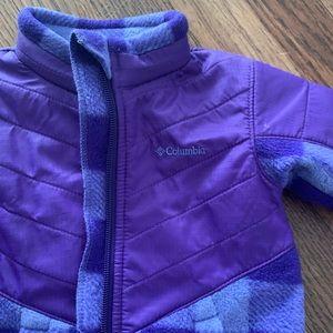 EEUC Columbia toddler jacket, 12-18M